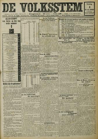 De Volksstem 1926-10-01