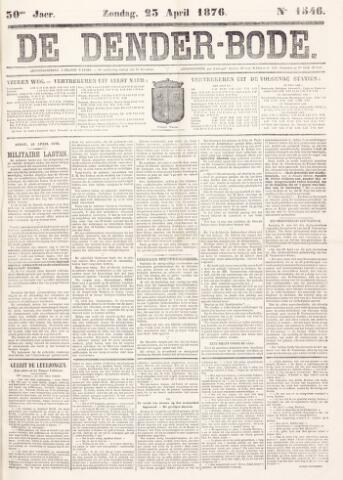 De Denderbode 1876-04-23