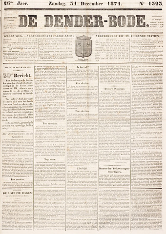 De Denderbode 1871-12-31