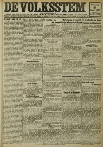 De Volksstem 1923-03-21