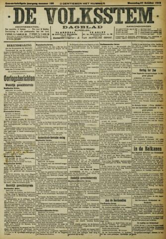 De Volksstem 1915-10-27