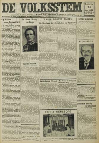 De Volksstem 1931-12-24