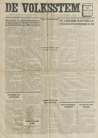 De Volksstem 1938-08-27