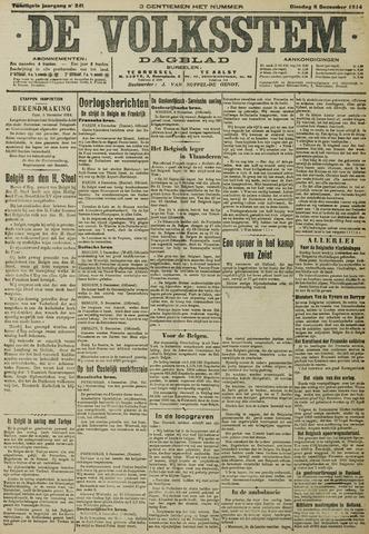 De Volksstem 1914-12-08