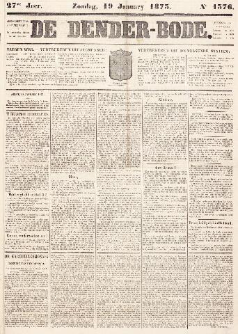 De Denderbode 1873-01-19