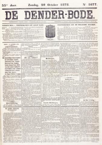 De Denderbode 1878-10-20