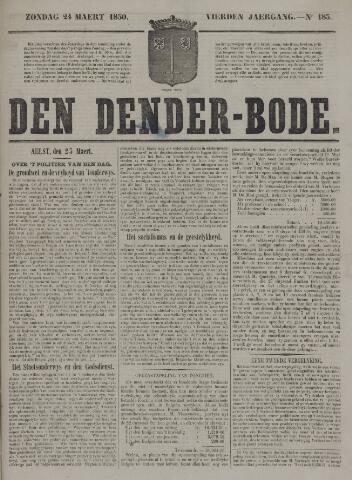 De Denderbode 1850-03-24