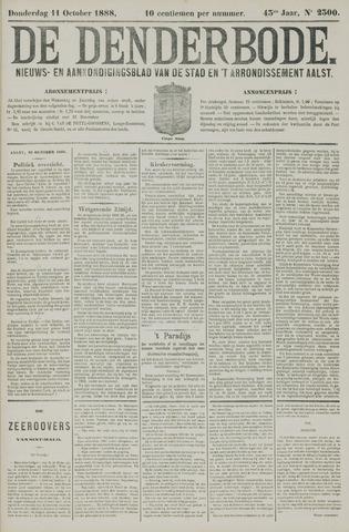 De Denderbode 1888-10-11
