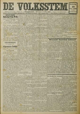 De Volksstem 1926-02-18