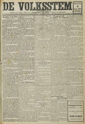 De Volksstem 1931-04-09