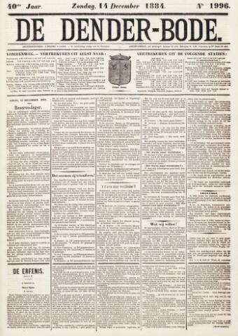 De Denderbode 1884-12-14