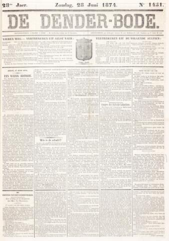 De Denderbode 1874-06-28