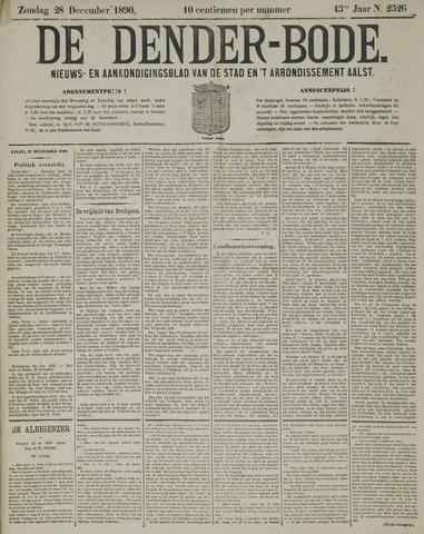 De Denderbode 1890-12-28