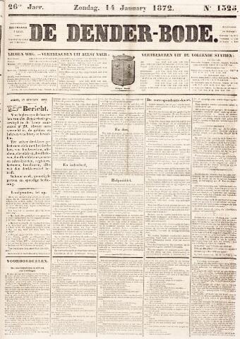 De Denderbode 1872-01-14