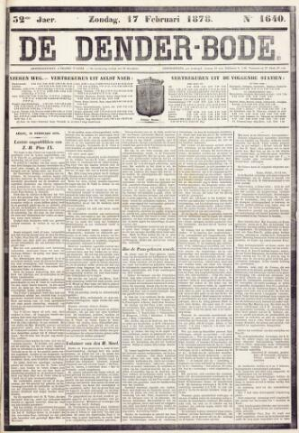 De Denderbode 1878-02-17