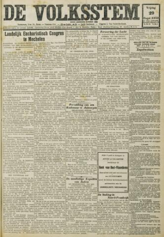 De Volksstem 1930-08-29