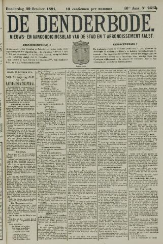 De Denderbode 1891-10-29