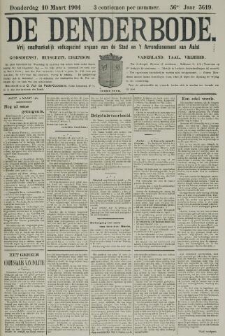 De Denderbode 1904-03-10