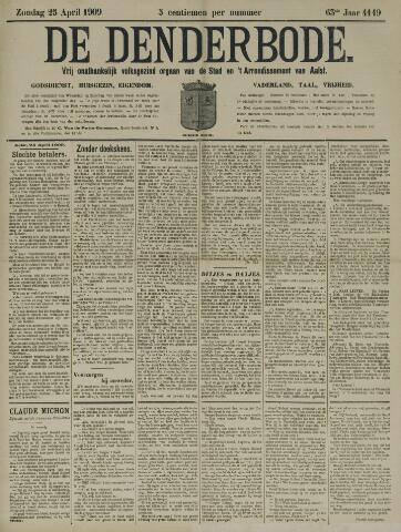 De Denderbode 1909-04-25