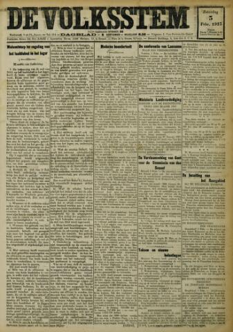 De Volksstem 1923-02-03