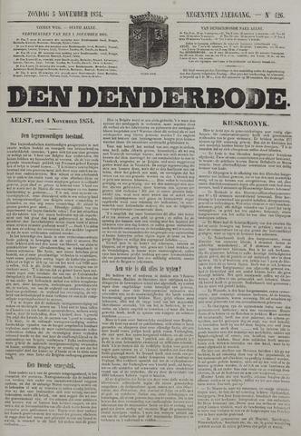 De Denderbode 1854-11-05
