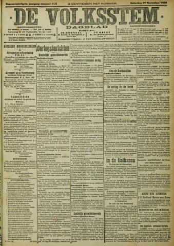 De Volksstem 1915-11-27