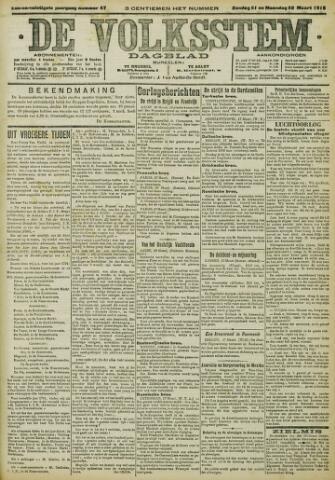 De Volksstem 1915-03-21