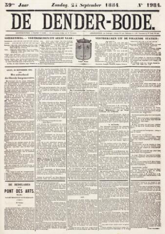 De Denderbode 1884-09-21