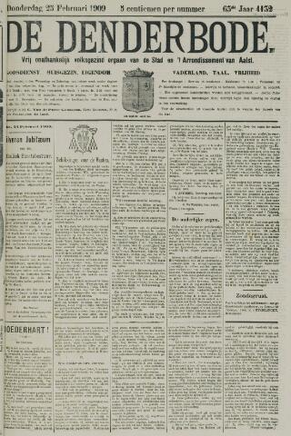 De Denderbode 1909-02-25
