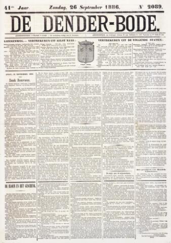 De Denderbode 1886-09-26