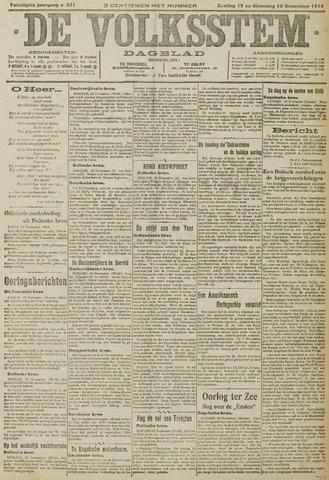 De Volksstem 1914-11-15