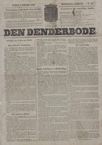 De Denderbode 1859