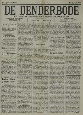 De Denderbode 1916-06-11