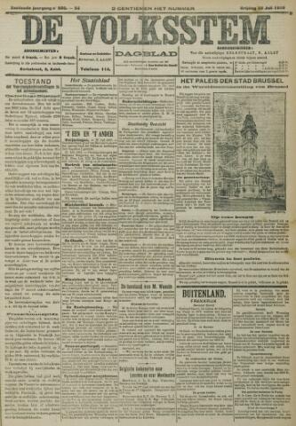 De Volksstem 1910-07-22