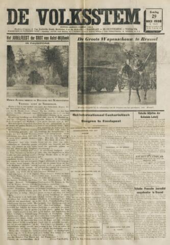 De Volksstem 1938-05-29
