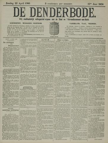 De Denderbode 1906-04-22