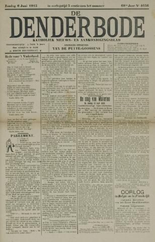 De Denderbode 1915-06-06