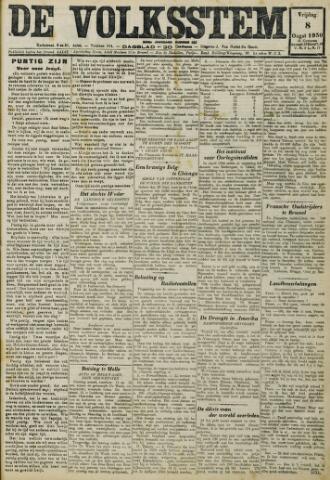 De Volksstem 1930-08-08