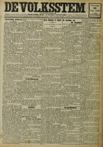De Volksstem 1923-02-21