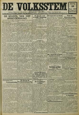 De Volksstem 1932-09-10
