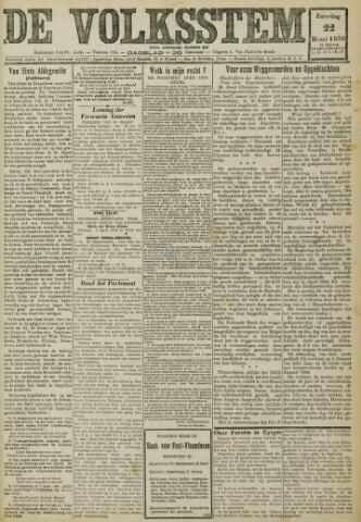 De Volksstem 1930-03-22