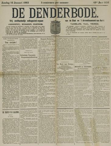 De Denderbode 1912-01-14