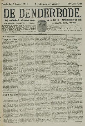 De Denderbode 1911-01-05