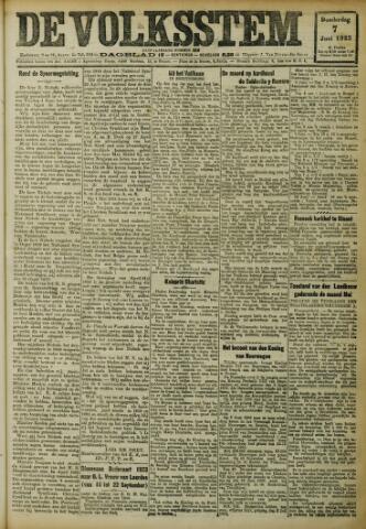 De Volksstem 1923-06-07