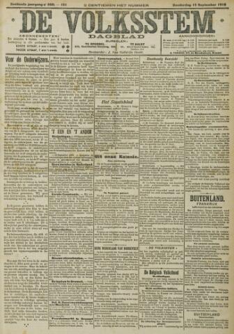 De Volksstem 1910-09-15