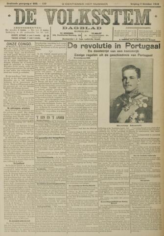 De Volksstem 1910-10-07