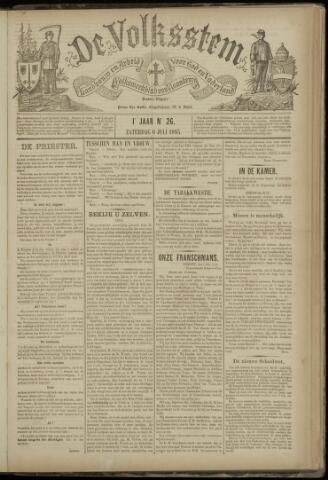 De Volksstem 1895-07-06