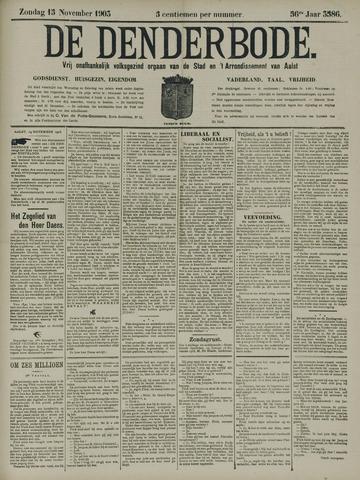 De Denderbode 1903-11-15