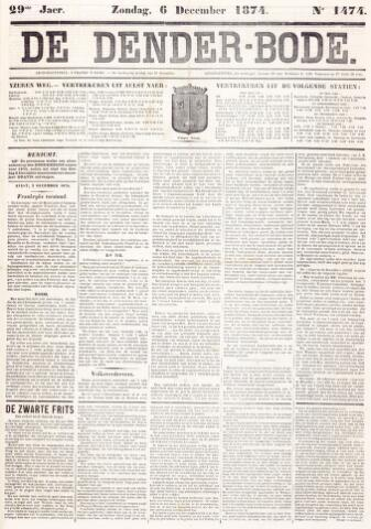 De Denderbode 1874-12-06