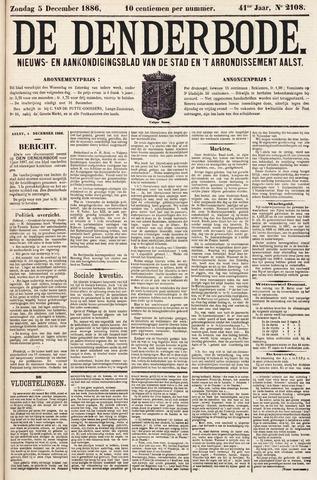 De Denderbode 1886-12-05